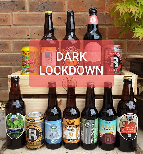 DARK LOCK DOWN BUMPER PACK (12 beers)