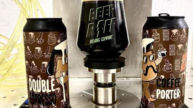 BEER RIFF - DOUBLE ESPRESSO COFFEE PORTER (440ml) 6.5%abv