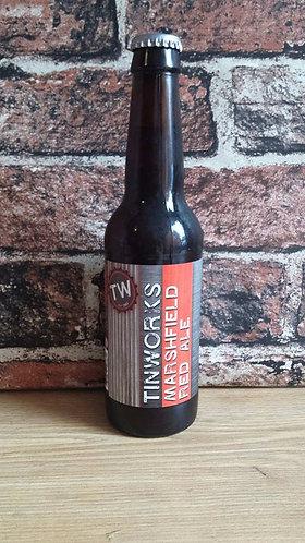 TINWORKS - MARSHFIELD RED ALE (330ml) 4.6% abv