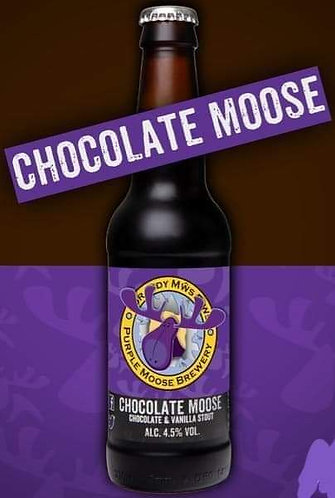 PURPLE MOOSE - CHOCOLATE MOOSE (330ml) 4.5%abv