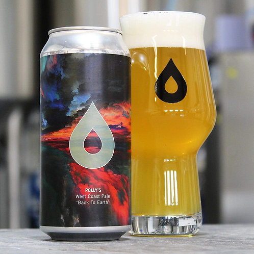 POLLY'S  - BACK TO EARTH- WEST COAST PALE (440ml) 5.6%abv
