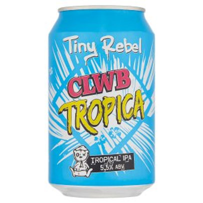 TINY REBEL-CLWB TROPICA (330ml) 5.5% abv