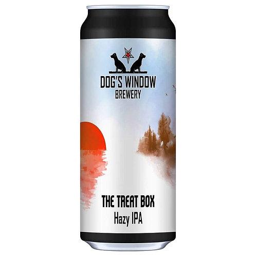 DOG'S WINDOW  - THE TREAT BOX HAZY IPA (440ml) 5.1%abv