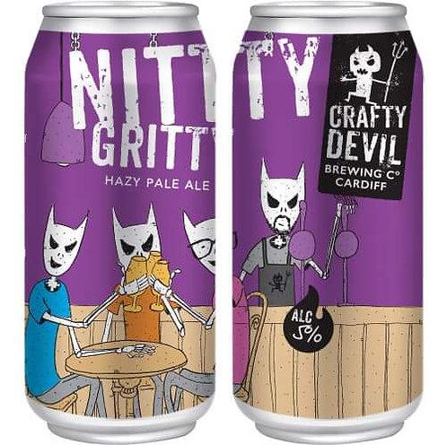 CRAFTY DEVIL  - NITTY GRITTY HAZY PALE (440ml) 5%abv