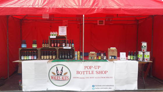 WALES ALES RETURN TO CF31 BRIDGEND STREET MARKET