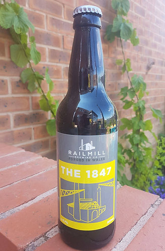 RAILMILL-THE 1847 (500ml) 4.7%abv