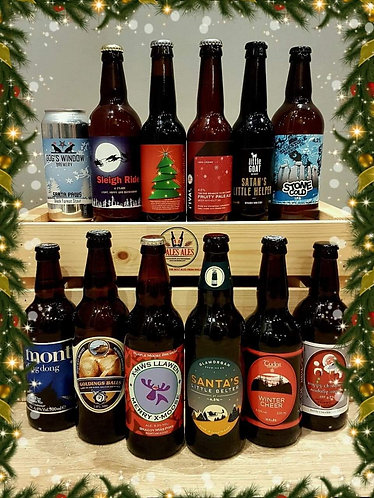 THE LEGENDARY 12 BEERS OF CHRISTMAS