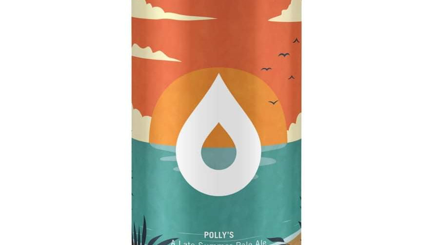 POLLY'S  - LATE SUMMER BRU-1 PALE ALE (440ml)5.6%abv