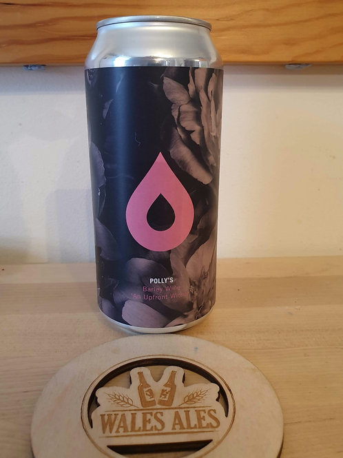 POLLYS  - AN UPFRONT WITHER BARLEY WINE (440ml) 8.2%abv
