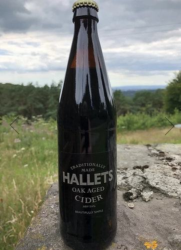 HALLETS - OAK AGED CIDER (500ml) 5.6%abv