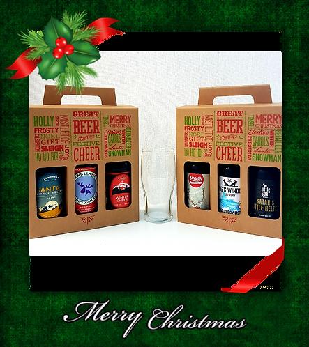 CHRISTMAS BEER GIFT SET (3 BOTTLES)