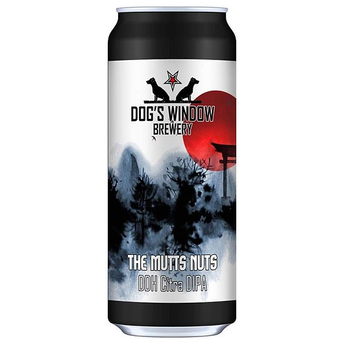 DOG'S WINDOW  - MUTTS NUTS DDH CITRA DIPA (440ml) 8.7%abv