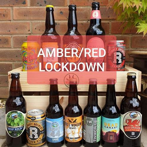 AMBER LOCK DOWN BUMPER PACK (12 beers)