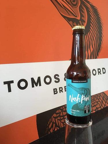 TOMOS & LILFORD  - NASHPOINT AMBER (330ml) 4%abv