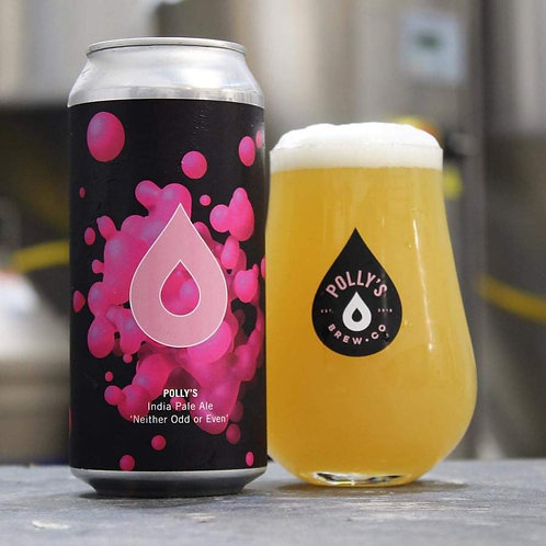 POLLY'S  - NEITHER ODD OR EVEN IPA (440ml) 5.6%abv