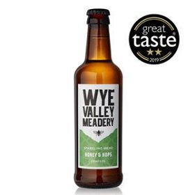 WYE VALLERY MEADERY - HONEY & HOPS (330ml) 4% abv