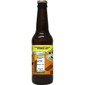 FLOWERHORN - PHARMACEUTICAL STIMULANT - COFFEE MILK STOUT (330ml) 6.3% abv