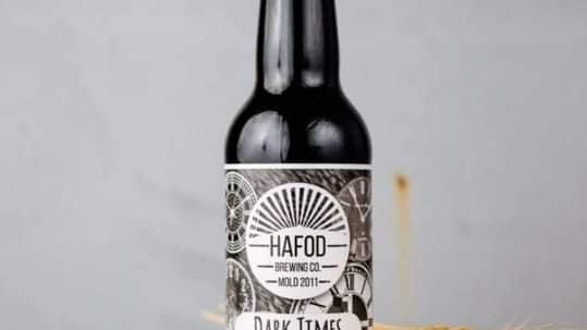 HAFOD  - DARK TIMES BLACK IPA (330ml) 6.9% abv (Gold member £2.19)