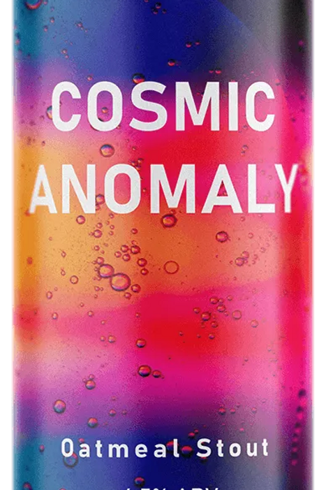 MAD DOG - COSMIC ANOMALY OATMEAL STOUT (440ml) 4.5%abv