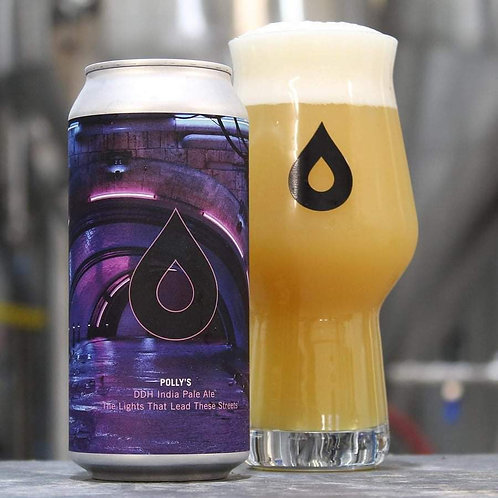 POLLY'S  - THE LIGHTS THAT LEAD THESE STREETS DDH IPA (440ml) 7.2%abv