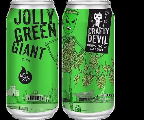 CRAFTY DEVIL  - JOLLY GREEN GIANT DIPA (440ml) 8%abv