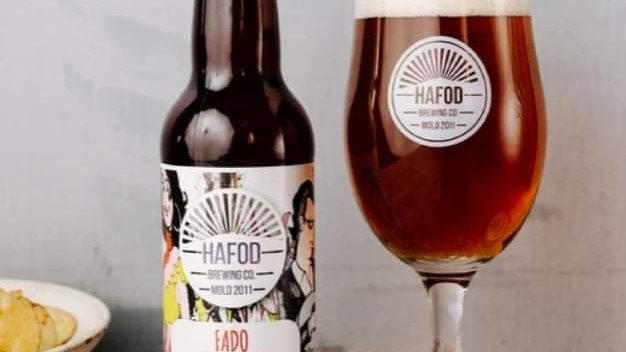 HAFOD - FADO DOUBLE IPA (330ml) 7.2%abv (Gold member £2.19)