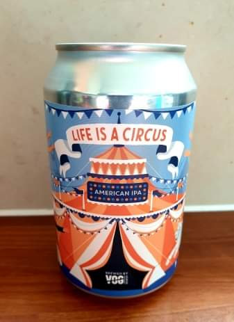 VOG - LIFE IS A CIRCUS - AMERICAN IPA (330ml) 4.5%abv