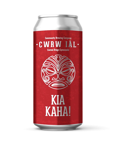 CWRW IAL - KIA KAHA!  NZ PALE (440ml) 4.3%abv