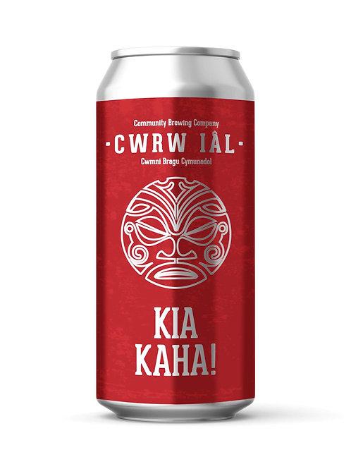 CWRW IAL - KIA KAHA!  NZ PALE (440ml) 4.3%abv
