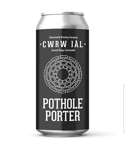 CWRW IAL - POTHOLE PORTER (440ml) 5.1%abv