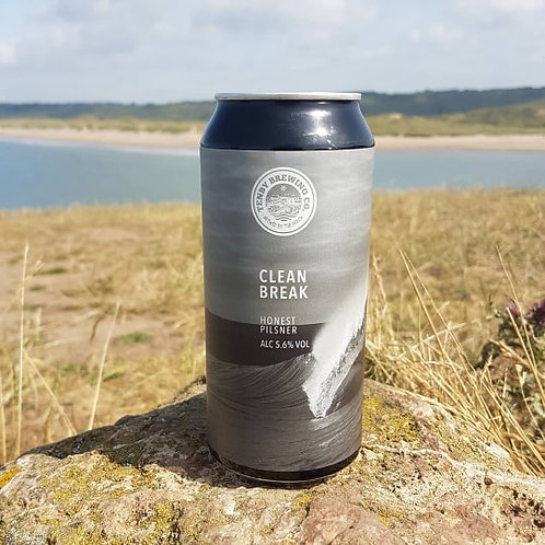TENBY BREWERY-CLEAN BREAK (440ml) 5.6%abv