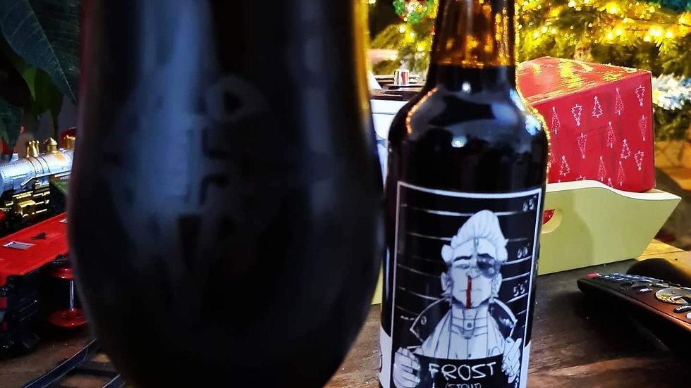 ANGLO-OREGON  - JOHN FROST STOUT (330ml) 7.4%abv