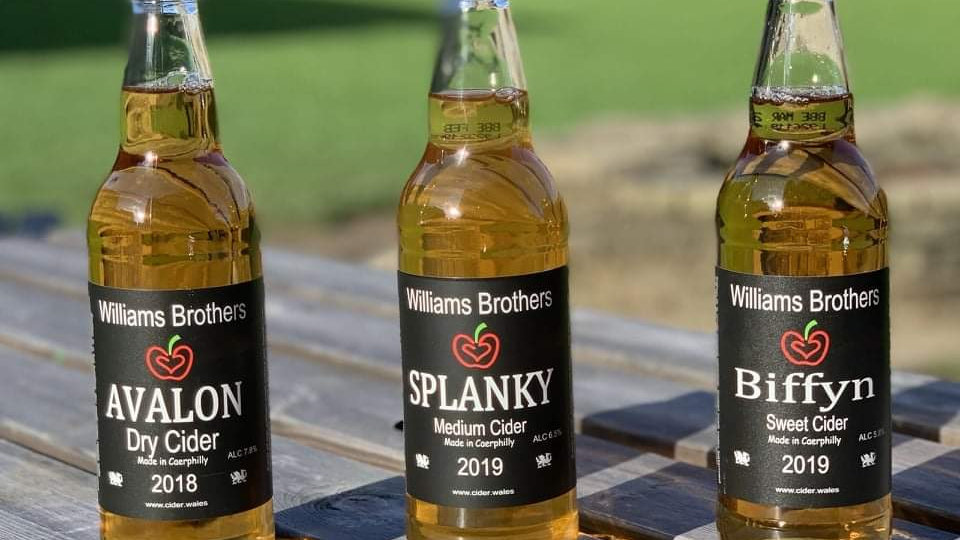 12 PACK OF WILLIAMS BROTHERS CIDER (500ml)