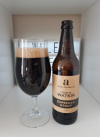 TOMOS WATKIN - ESPRESSO STOUT (500ml) 4.5%abv