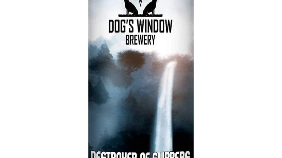 DOG'S WINDOW  - DESTROYER OF SLIPPERS HAZY IPA (440ml) 5.1%abv