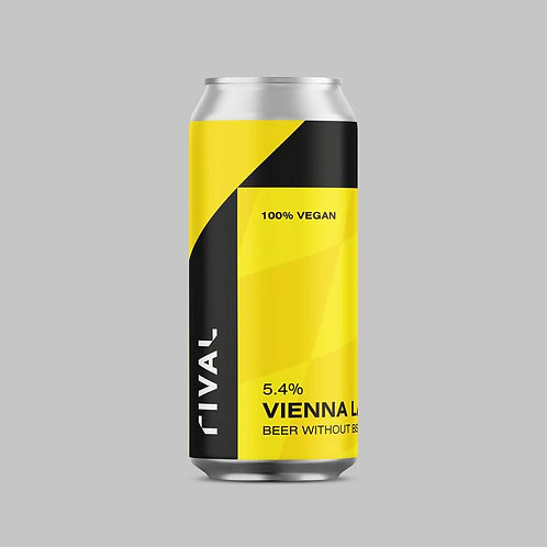RIVAL - VIENNA LAGER (440ml) 5.4%abv