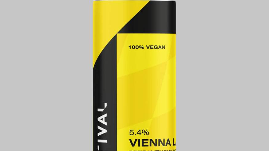 RIVAL - VIENNA LAGER (440ml) 5.4%abv (Gold member £2.85)