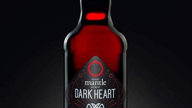MANTLE - DARK HEART PORTER (500ml) 5.2% (Gold member £3.07)