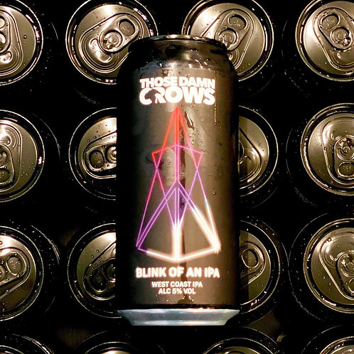TENBY & THOSE DAMN CROWS  - BLINK OF AN IPA (440ml) 5%abv