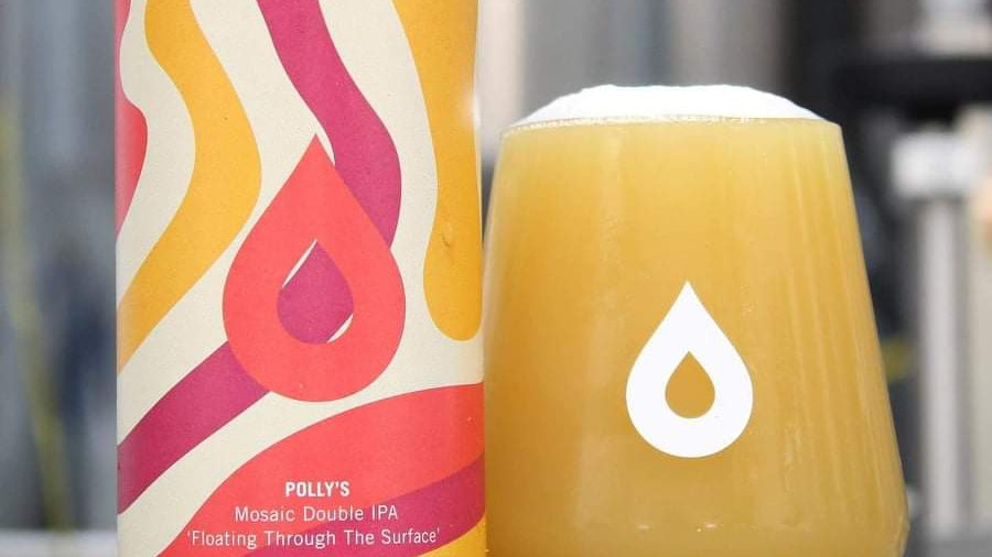 POLLY'S  - FLOATING THROUGH SURFACE DOUBLE IPA (440ml) 8.3%abv