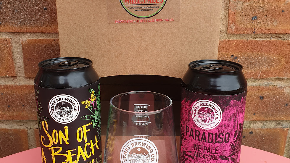 TENBY BREWERY GIFT SET (2 beers & a glass)