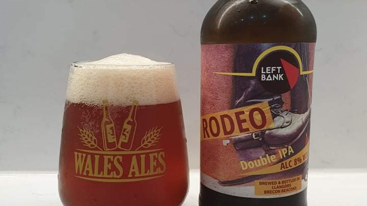 LEFT BANK BREWERY  - RODEO DOUBLE IPA (500ml) 8% (Gold member £3.07)