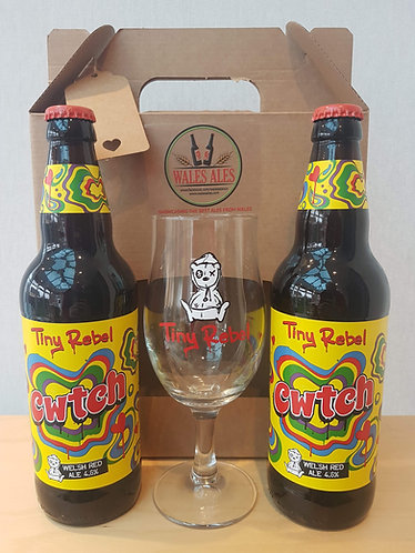 TINY REBEL GIFT SET (2 beers & a glass)