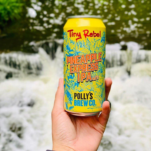 TINY REBEL & POLLYS - PINEAPPLE EXPRESS (440ml) 6.2% abv