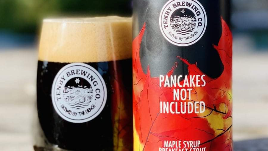 TENBY - PANCAKES NOT INCLUDED MAPLE STOUT (440ml) 4.6% (Gold member £3.32)