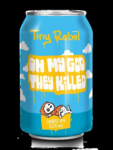 TINY REBEL  - OMG THEY KILLED SABRO (330ml) 5.2%abv