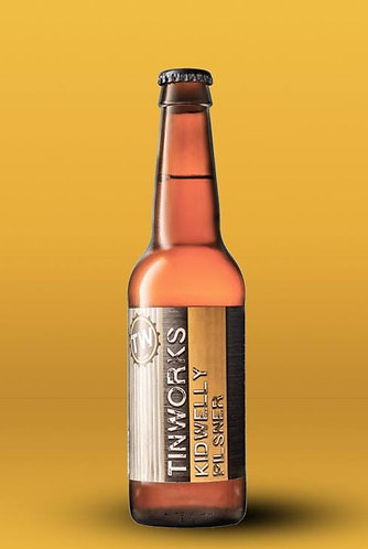 TINWORKS - KIDWELLY PILSNER (330ml) 5.2%abv