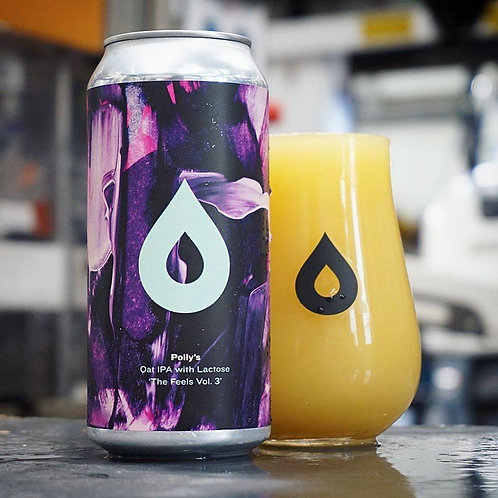 POLLY'S -THE FEELS VOL 3 - OAT IPA (440ml) 6.2% abv