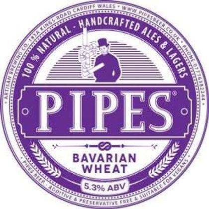 PIPES - BAVARIAN WHEAT (500ml) 5.3%abv