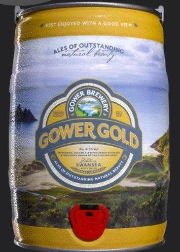 GOWER - GOLD 4.5% abv 9 pint mini keg